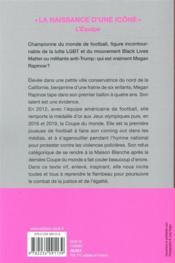 One life ; ballon d'or et icône féministe - 4ème de couverture - Format classique