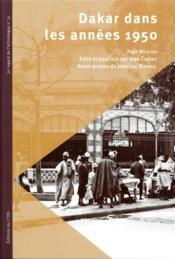 Dakar dans les années 1950 - Couverture - Format classique