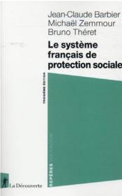 Le système français de protection sociale (3e édition) - Couverture - Format classique