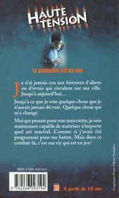 Haute Tension T.1 ; La Puissance Est En Moi - 4ème de couverture - Format classique