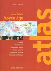 Atlas mondial du moyen age - Intérieur - Format classique