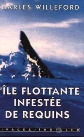 L'île flottante infestée de requins - Couverture - Format classique