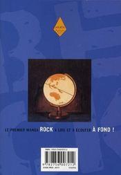 Beck t.20 - 4ème de couverture - Format classique