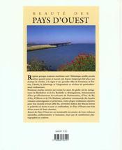 Pays D'Ouest - 4ème de couverture - Format classique