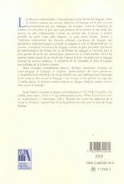 L'Amour En Fragments ; Poetique De La Relation Critique - 4ème de couverture - Format classique