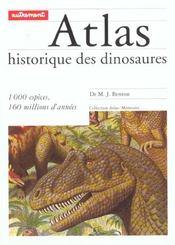 Atlas Historique Des Dinosaures - Intérieur - Format classique