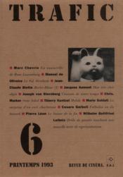 Revue Trafic N.6 - Couverture - Format classique