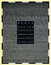Roman opalka - Couverture - Format classique