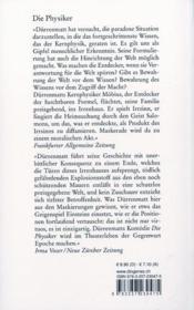 Physicker - 4ème de couverture - Format classique