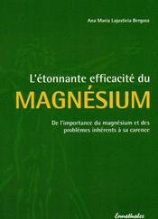 L'étonnante efficacité du magnésium - Intérieur - Format classique