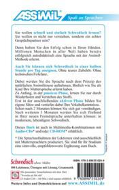 Schwedisch ohne Mühe - 4ème de couverture - Format classique