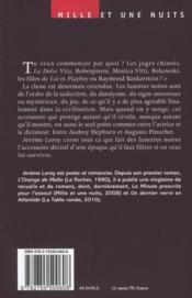 Physiologie des lunettes noires - 4ème de couverture - Format classique