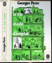 La vie mode d'emploi - Couverture - Format classique