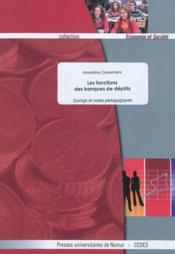 Les fonctions des banques de dépôts (professeur) - Couverture - Format classique