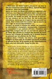 L'aureus de faustine - 4ème de couverture - Format classique