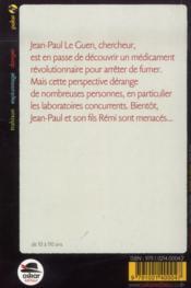 Coup de tabac - 4ème de couverture - Format classique