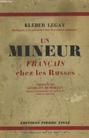 Un Mineur Francais Chez Les Russes - Couverture - Format classique