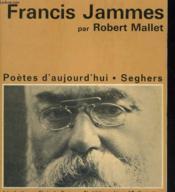 Francis Jammes - Collection poètes d'aujourd'hui n° 20 - Couverture - Format classique