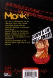 Monk t.6 - 4ème de couverture - Format classique