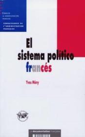 El sistema politico frances - Couverture - Format classique