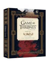 Dans les coulisses de Game of Thrones ; saison 3 et 4 - Couverture - Format classique