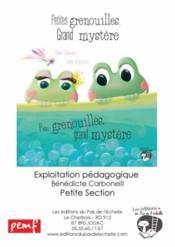 Fichier PS ; petites grenouilles - Couverture - Format classique
