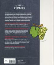 Le goût des cépages - 4ème de couverture - Format classique