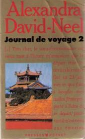Journal De Voyage T.2 - Couverture - Format classique