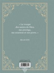 Prier avec les saints - 4ème de couverture - Format classique
