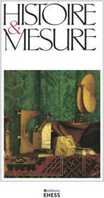 Revue histoire et mesure N.35 - Couverture - Format classique