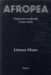 Afropea ; utopie post-occidentale et post-raciste - Couverture - Format classique