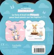Disney Baby ; mes petits animaux ; je suis Panpan - 4ème de couverture - Format classique