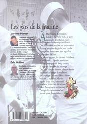 Les gars de la marine le tatouage de marin - 4ème de couverture - Format classique