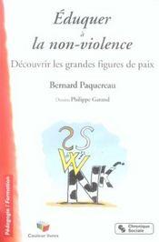 Eduquer a la non-violence decouvrir les grandes figures de paix - Intérieur - Format classique