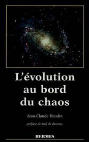 L'évolution au bord du chaos - Couverture - Format classique
