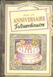 Heureux anniversaire a quelqu'un d'extra pour ses quarante ans - Intérieur - Format classique