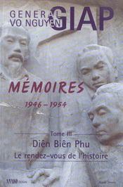 Memoires 1946-1954 Volume 3 - Intérieur - Format classique