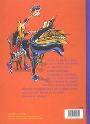 Les trois secrets d'Alexandra t.2 ; un violon dans la nuit - 4ème de couverture - Format classique
