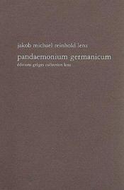 Pandemonium germanicum - Couverture - Format classique