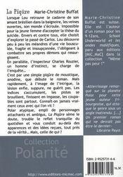 La piqûre - 4ème de couverture - Format classique