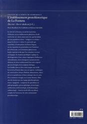 L'établissement protohistorique de la fonteta ; fouilles de la rabita de guardamar ii - 4ème de couverture - Format classique