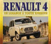 Renault 4 ; un losange à toute épreuve - Couverture - Format classique