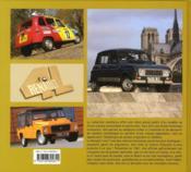 Renault 4 ; un losange à toute épreuve - 4ème de couverture - Format classique