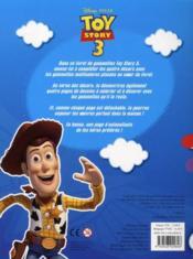Toy Story 3 ; mon livret de gommettes - 4ème de couverture - Format classique