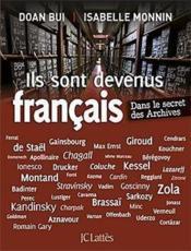 Ils sont devenus Français - Couverture - Format classique
