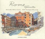 Rome ; aquarelles - Couverture - Format classique