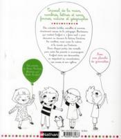 Mon cahier Montessori ; travail de la main, nombres, lettres et sons, formes, nature ... - 4ème de couverture - Format classique