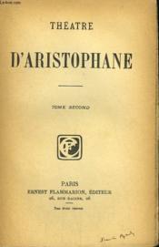 Theatre D'Aristophane. Tome Second. - Couverture - Format classique