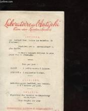 Hypersecretion Gastrique Et Hyperchlorhytdrie N°1 - Couverture - Format classique