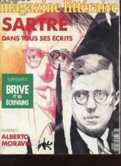 Magazine Litteraire N°282 - Sartre Dans Tous Ses Ecrits - Couverture - Format classique